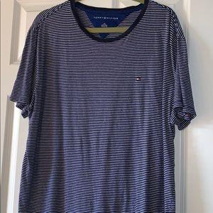 Tommy Hilfiger Striped Short-Sleeve Shirt